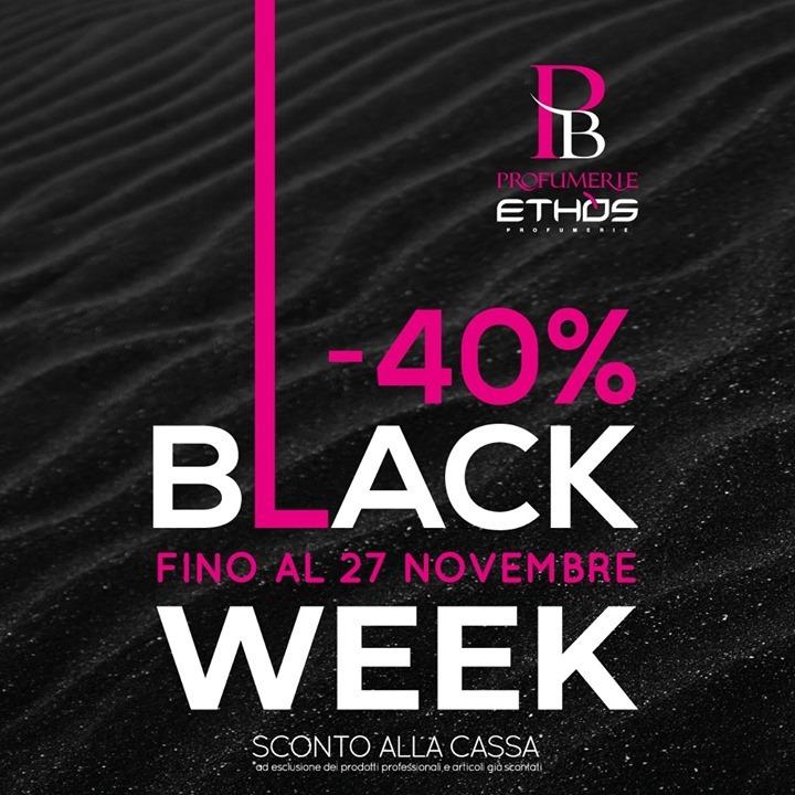 PB PROFUMERIE ETHOS – BLACK WEEK!