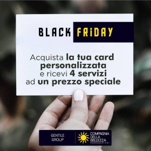 COMPAGNIA DELLA BELLEZZA – BLACK FRIDAY CARD!