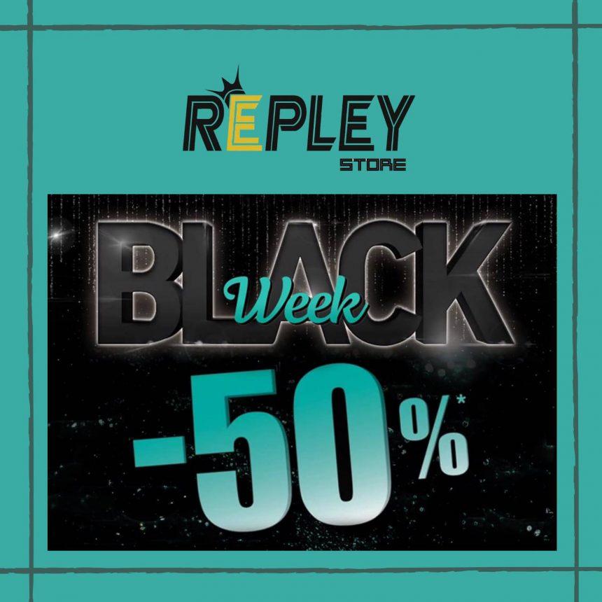 BLACK FRIDAY REPLEY: NUOVA COLLEZIONE -50%