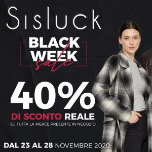 SISLUCK – BLACK WEEK SALE!